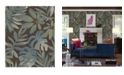 "Brewster Home Fashions Nocturnum Leaf Wallpaper - 396"" x 20.5"" x 0.025"""