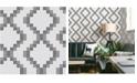 "Brewster Home Fashions Mosaic Grid Wallpaper - 396"" x 20.5"" x 0.025"""