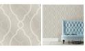 """Brewster Home Fashions Sausalito Lattice Wallpaper - 396"""" x 20.5"""" x 0.025"""""""