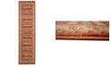 """Bridgeport Home Ojas Oja4 Rust Red 2' 7"""" x 10' Runner Area Rug"""