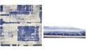 """Bridgeport Home Wisdom Wis4 Navy Blue 8' 4"""" x 8' 4"""" Square Area Rug"""