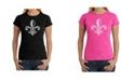 LA Pop Art Women's Word Art T-Shirt - When The Saints Go Marching In