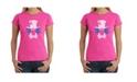 LA Pop Art Women's Word Art T-Shirt - The Mad Hatter