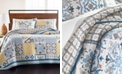 Martha Stewart Collection La Dolce Vita Patchwork King Quilt, Created for Macy's