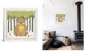 """iCanvas Bear by Moira Hershey Gallery-Wrapped Canvas Print - 18"""" x 18"""" x 0.75"""""""