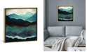 "iCanvas ""Indigo Mountains"" by Spacefrog Designs Gallery-Wrapped Canvas Print"