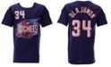 Mitchell & Ness Big Boys Hakeem Olajuwon Houston Rockets Hardwood Classic Player T-Shirt