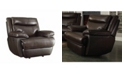 Macy's Coaster Home Furnishings Macpherson Power Glider Recliner with Built-in USB Charging Port