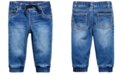 First Impressions Baby Boys Denim Jogger, Created for Macy's