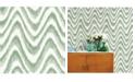 """A-Street Prints 20.5"""" x 396"""" Bargello Wave Wallpaper"""