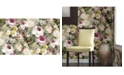 "Advantage 21"" x 396"" Macau Painterly Floral Wallpaper"