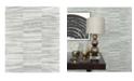"""A-Street Prints 21"""" x 396"""" Lithos Geometric Marble Wallpaper"""