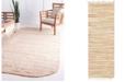 Bridgeport Home Jari Striped Jar1 Tan Area Rug Collection
