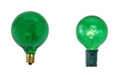 Northlight Pack of 25 Incandescent G50 Green Christmas Replacement Bulbs