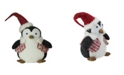 """Northlight 18"""" Large Plush Penguin in Red Nordic Snowflake Vest Christmas Figure"""
