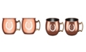 "Thirstystone ""And Theyr'e Off"" Copper Moscow Mule Mugs - Set of 2"