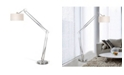 """Artiva USA 'Architect' Contemporary Arched Adjustable 86"""" Floor Lamp with Heavy-Duty Base"""