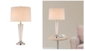 """Artiva USA Crystal Suite Collection 33"""" H Modern 2-Light LED Crystal Table Lamp with Dimmer"""