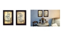 """Trendy Decor 4U Trendy Decor 4U Friends and Family Collection By Susan Ball, Printed Wall Art, Ready to hang, Black Frame, 10"""" x 14"""""""