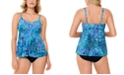Swim Solutions Tankini Top & Bottoms, Created for Macy's
