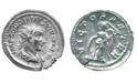 American Coin Treasures Ancient Roman Empire Silver Coin