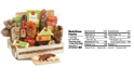 Hickory Farms Deluxe Meat & Cheese Wooden Gift Crate