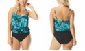 Coco Reef Contours Amaris Colorblocked Tummy Control One-Piece Swimsuit