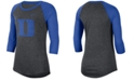 Nike Women's Duke Blue Devils Logo Raglan T-Shirt