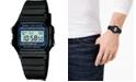 Casio Unisex Digital Black Resin Strap Watch 35mm