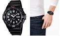 Casio Men's Black Resin Strap Watch 43mm