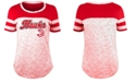 5th & Ocean Atlanta Hawks NBA Women's Space Dye T-Shirt