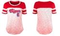 5th & Ocean Women's Los Angeles Clippers Space Dye T-Shirt