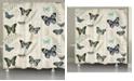 Laural Home Flutters Fern Shower Curtain