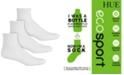 Hue Women's 3-Pk. Eco Sport Mini Crew Socks