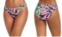 Bar III Hidden Jungle Printed Hipster Bikini Bottoms, Created for Macy's