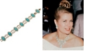 Grace Kelly Collection 18k Gold Plated Drop Bracelet