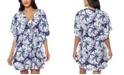Jessica Simpson Tie-Dye Swim Cover-Up Dress