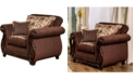 Furniture of America Wunderlich Upholstered Chair