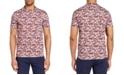 Brooklyn Brigade Men's Slim-Fit Pincushion Crewneck Short Sleeve T-shirt