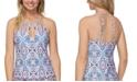 Raisins Juniors' Aquarius Rising Rosalie Tankini Top, Created for Macy's