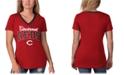 G-III Sports Women's Cincinnati Reds Fair Ball T-Shirt