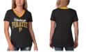G-III Sports Women's Pittsburgh Pirates Fair Ball T-Shirt