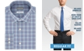 Michael Kors Men's Classic/Regular-Fit Non-Iron Airsoft Performance Stretch Plaid Dress Shirt