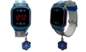 Accutime Kid's Frozen 2 Blue Silicone Strap Touch Screen Watch 36x33mm