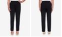 Alfred Dunner Women's Missy Knightsbridge Station Ponte Slim Proportioned Medium Pant