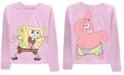 Nickelodeon Juniors' Spongebob Long-Sleeved Graphic T-Shirt