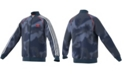 adidas Big Boys Allover Print Camouflage SST Track Jacket