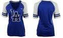 Nike Women's Short-Sleeve Los Angeles Dodgers Fan Top T-Shirt