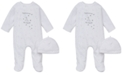 Little Me Baby Boys & Girls Welcome To The World Footed Coverall & Hat Set