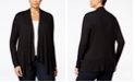 INC International Concepts INC Plus Size Draped Cardigan, Created for Macy's
